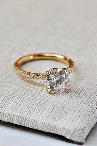 engagement ring shapes solitaire engagement rings yellow gold engagement rings round engagement rings missdiamondring