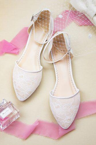 flat wedding shoes lace comfort katewhitcombshoes