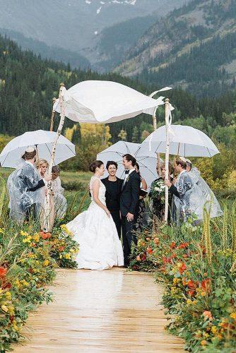how to officiate a wedding beautiful nature wedding