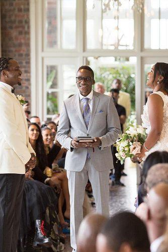 how to officiate a wedding ceremony newlyweds
