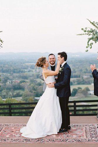 how to officiate a wedding happy newlyweds and officiant