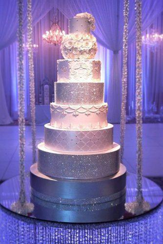 metallic wedding cake wonderful sparkle cake cindacakes