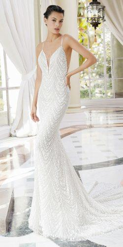 rosa clara wedding dresses mermaid style beaded embroidered lace with straps
