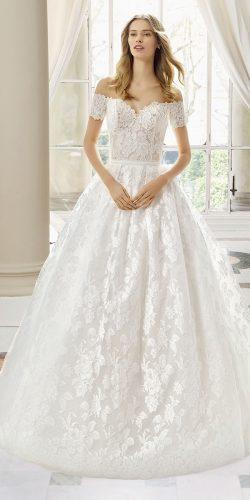 rosa clara wedding dresses princess off the shoulder sweetheart lace