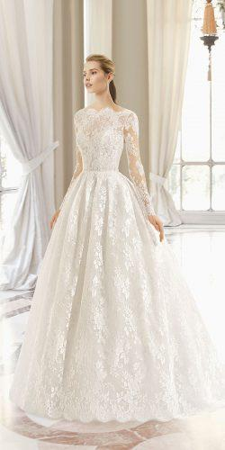 rosa clara wedding dresses princess with long sleeves full delicate lace
