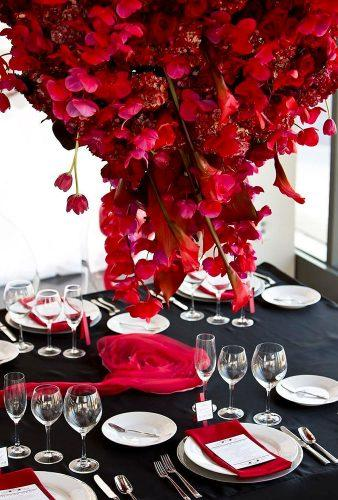 valentines day wedding ideas hanging flower decor annaandspencer