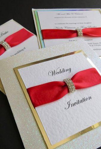 valentines day wedding ideas invitation with tape delightweddingstationery