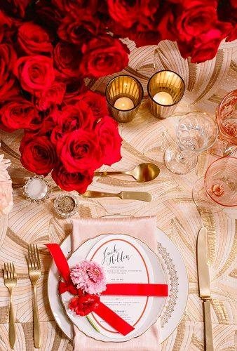 valentines day wedding ideas table decor Brian Leahy Photography