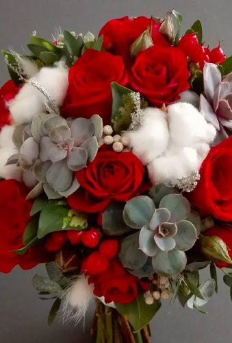 valentines day wedding ideas white red bouquet irena florist grodno