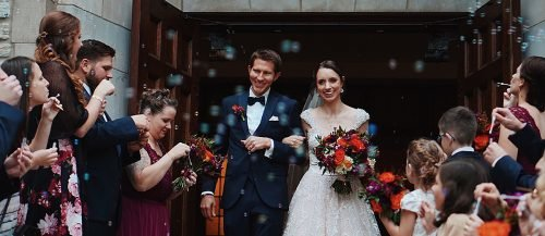 wedding recessional songs newlyweds leaving ceremony featured
