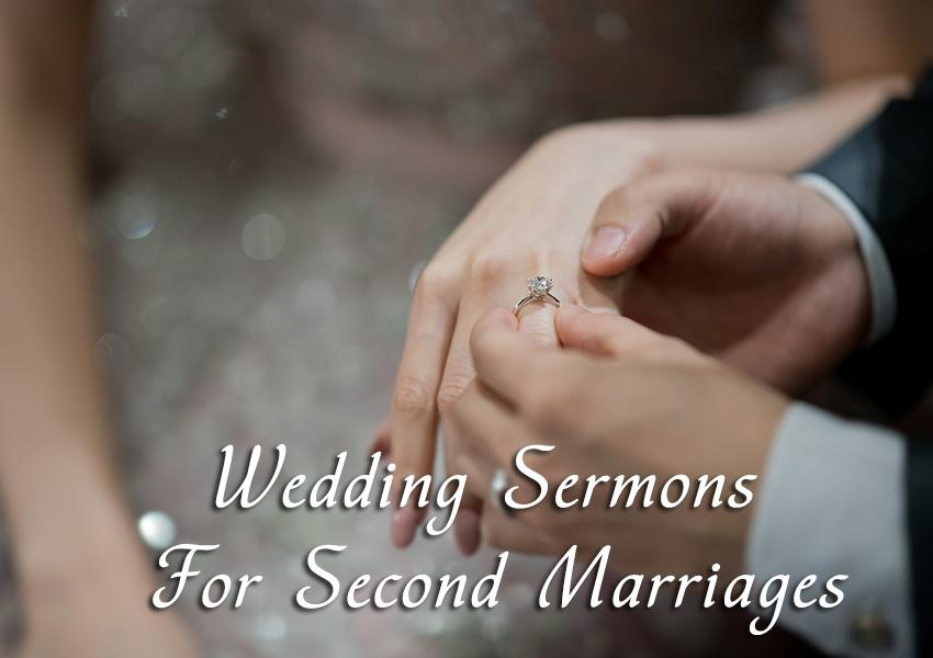 wedding sermons newlyweds secong marriage