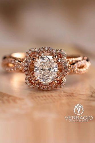anniversary rings diamond engagement rings oval cut engagement rings rose gold engagement rings halo rings unique engagement ring verragio