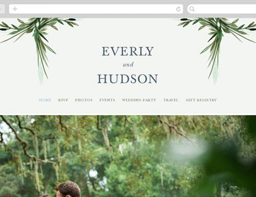 best wedding websites minted