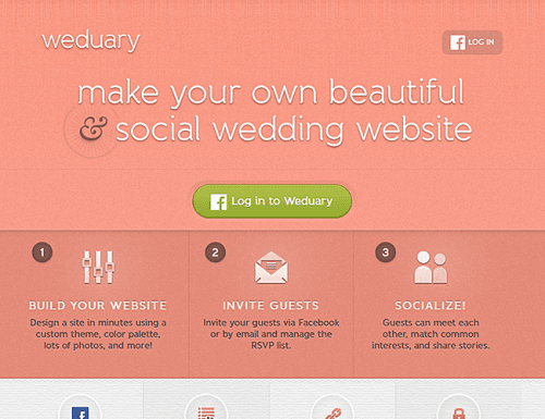 best wedding websites weduary