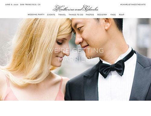 best wedding websites zola