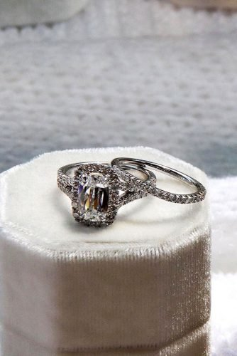 diamond wedding rings halo engagement rings white gold engagement rings emerald cut rings engagement rings henridaussi