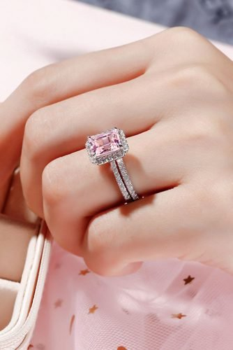 diamond wedding rings halo engagement rings white gold engagement rings pink diamond rings emerald cut rings jeuliajewelry