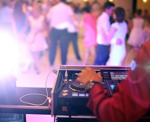 engagement party songs guests dancing dj