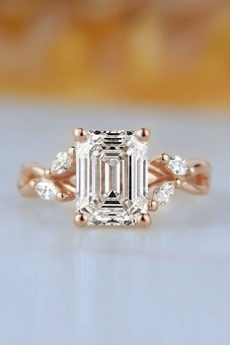 engagement ring trends 2019 rose gold engagement rings diamond engagement rings brilliantearth