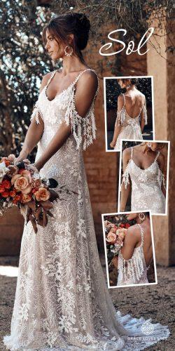 grace loves lace wedding dresses icon latest collection collage Sol