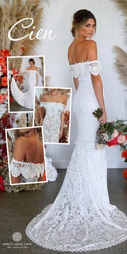 grace loves lace wedding dresses icon latest collection collage cien