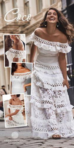 grace loves lace wedding dresses icon latest collection collage coco