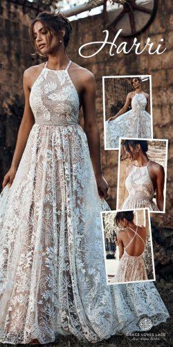 grace loves lace wedding dresses icon latest collection collage harri
