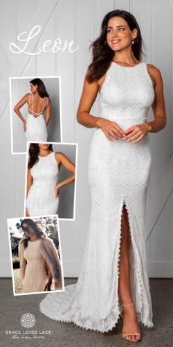 grace loves lace wedding dresses icon latest collection collage leon