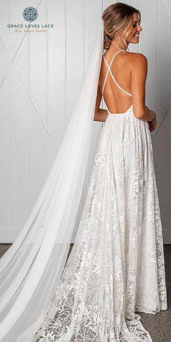 grace loves lace wedding dresses icon latest collection open back gown natural waist harri