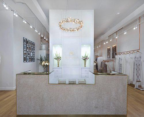 grace loves lace wedding dresses new york showroom reception