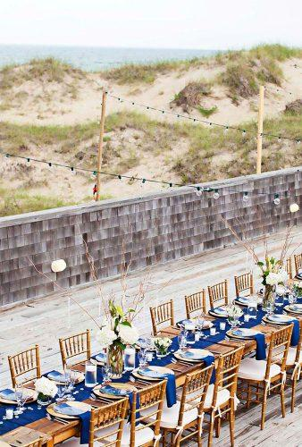 nautical wedding decor ideas blue wedding reception kristi midgette