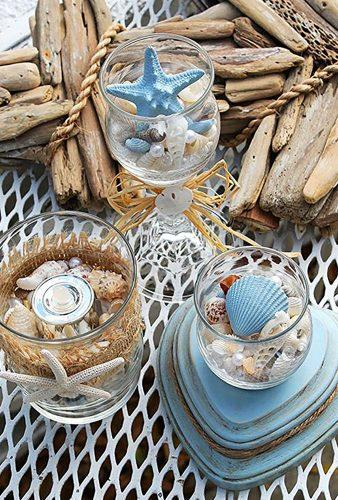nautical wedding decor ideas reception details with starfish Seriously Cindyrella