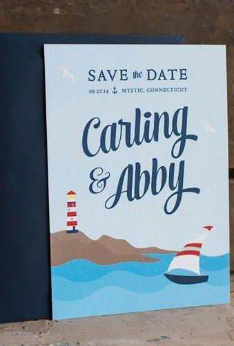 nautical wedding decor ideas sea save date starboardpress