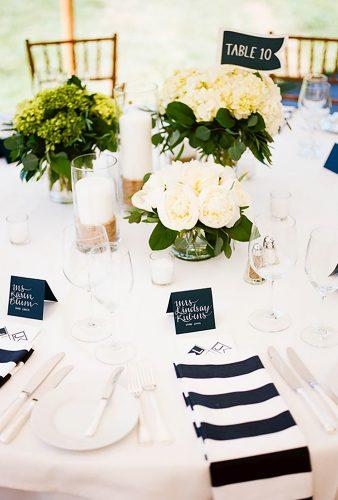 nautical wedding decor ideas tautical table decor briantropiano