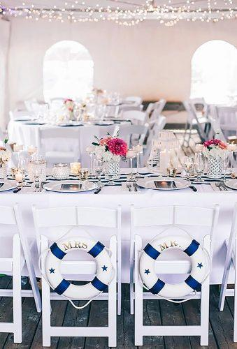 nautical wedding decor ideas wedding chair decor kamariageusa