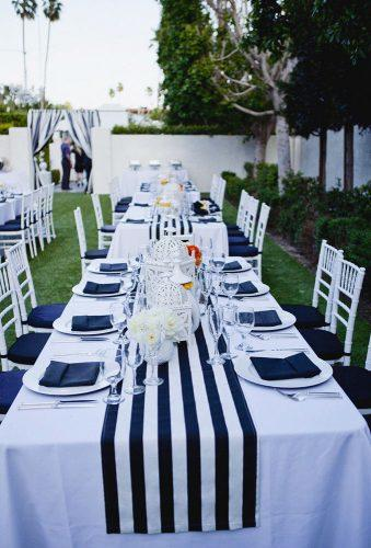 nautical wedding decor ideas wedding reception christine arnold photography