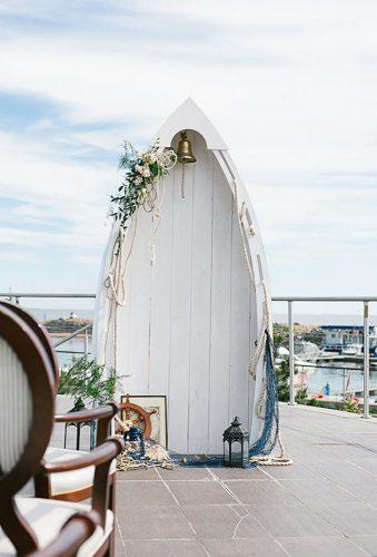 nautical wedding decor ideas boat arch dio decor