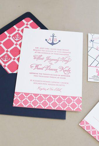 nautical wedding decor ideasred blue polygraphy Elizabeth Messina