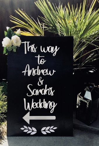 rustic wedding signs enterence sign therusticcornerbysylvia