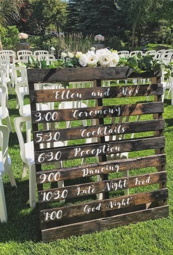 rustic wedding signs palet reception sign joaniweddingdecor