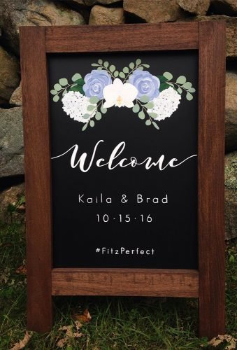 rustic wedding signs sign with date simplematilda