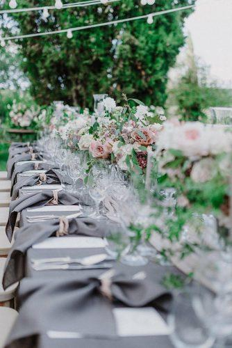 silver sage wedding long table with blush flower tablerunners federicabeni_ed