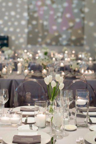 silver sage wedding reception with white tulips on tables sqnevents
