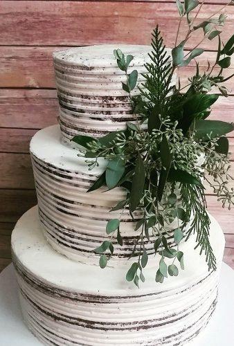 spring wedding cakes cale with greenery shelbylynnscake