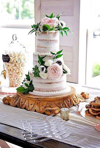 spring wedding cakes nender naked cake gentrysphotography