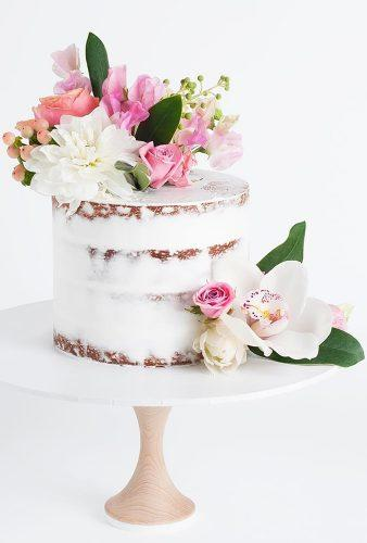 spring wedding cakes small cake with flower cake ink