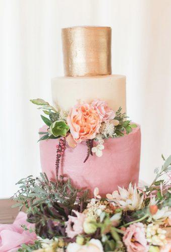 spring wedding cakes tender cake with gold jenweinman