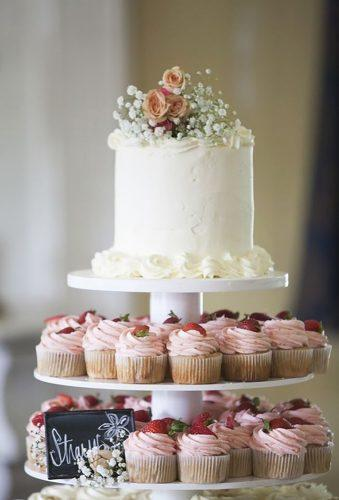spring wedding cakes white cake and cupcake mandy owens