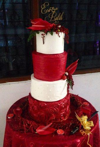 valentines day wedding ideas wedding cake queencake12