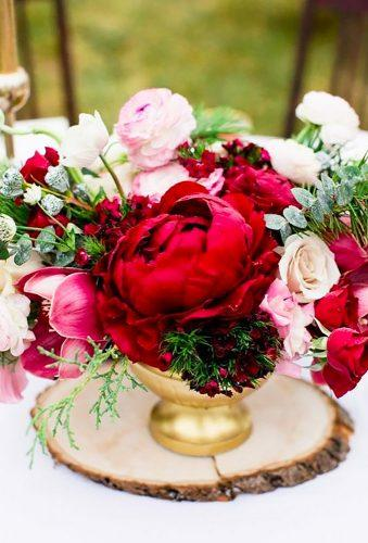 valentines day wedding ideas wedding centerpiece Cassandra Photo